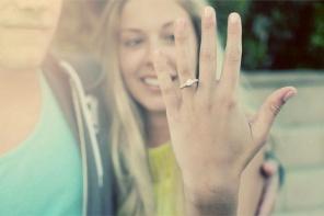 Narzeczeni po zaręczynach