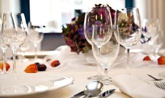 Stół weselny w Art Hotelu