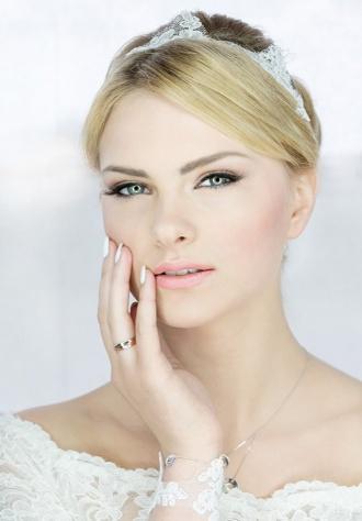 Subtelny makijaż ślubny