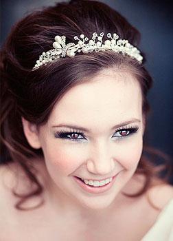 Tiara do ślubu dla panny młodej