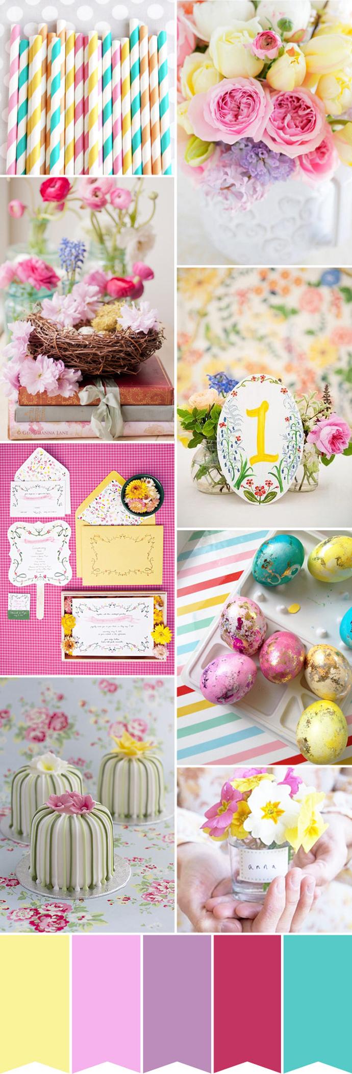 Kolorowy ślub w Wielkanoc