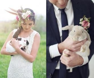 Para młoda w Wielkanoc