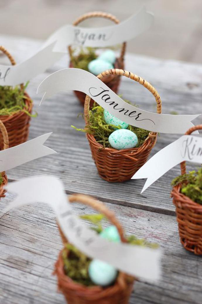 Wielkanocne prezenty dla gości weselnych