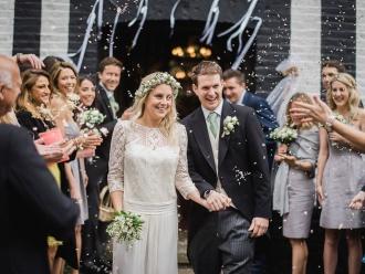 Ślub z motywem konwalii