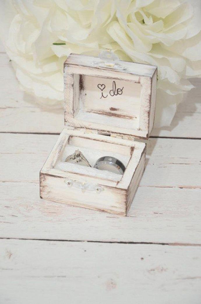 Ślub rustykalny - obrączki