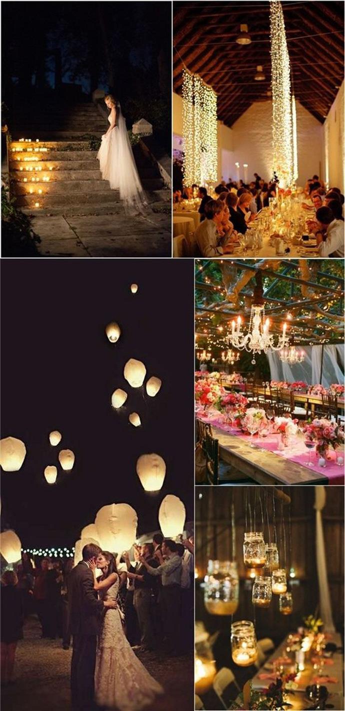 Rustykalne romantyczne wesela