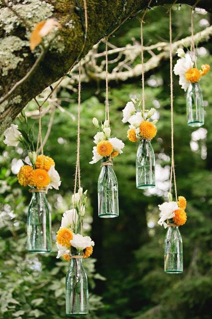 Rustykalne dekoracje weselne