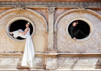 Sesja ślubna w Zamku Moszna