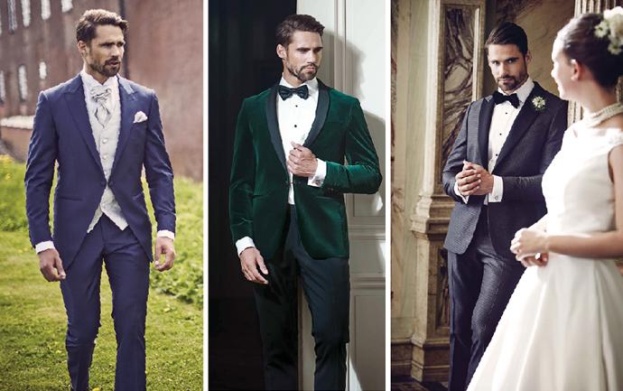 Ślubny strój pana młodego