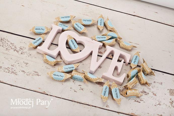 Krówki słodki prezent dla gości weselnych