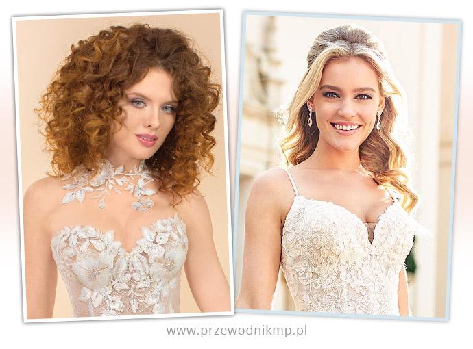 Suknie ślubne z dekoltami w kształcie serca