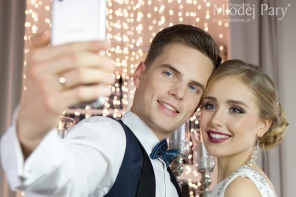Selfie pary młodej