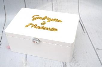 kufer na kartki - Golden Glamour, MadameAllure.pl,130 pln