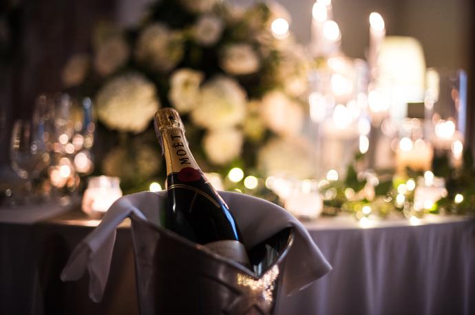 Szampoan weselny w Art Hotelu we Wrocławiu