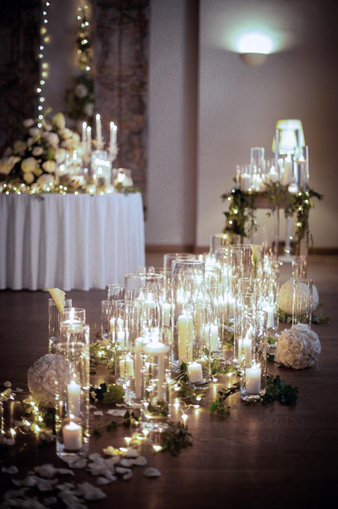 Romantyczny wystrój na wesele w Art Hotelu