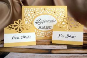 Zaproszenia ślubne i winietki