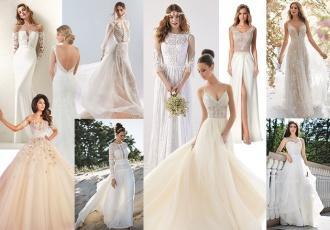 Trendy w sukniach ślubnych 2018-2019