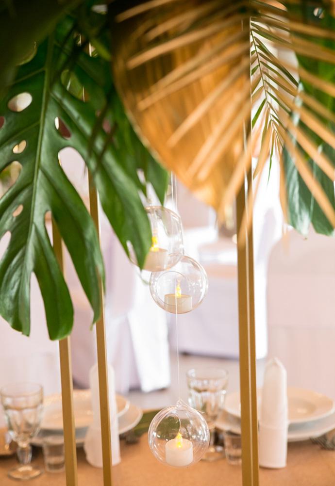 Ślubne dekoracje w stylu egzotycznym