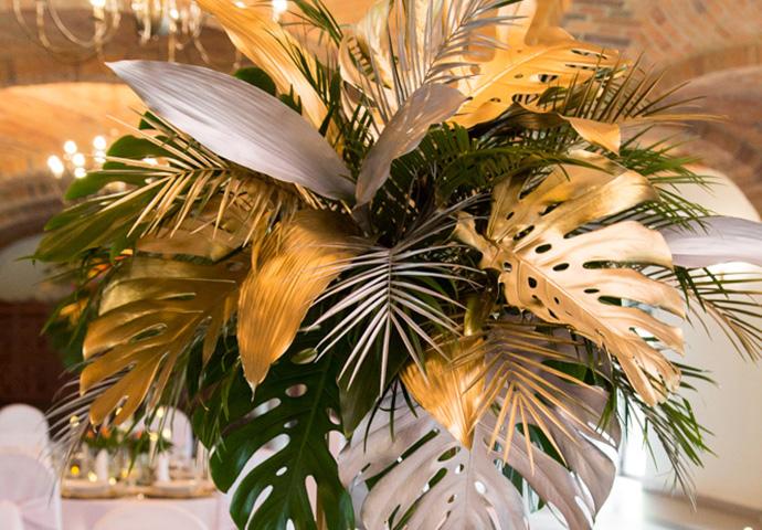 Egzotyczne dekoracje na ślub i wesele