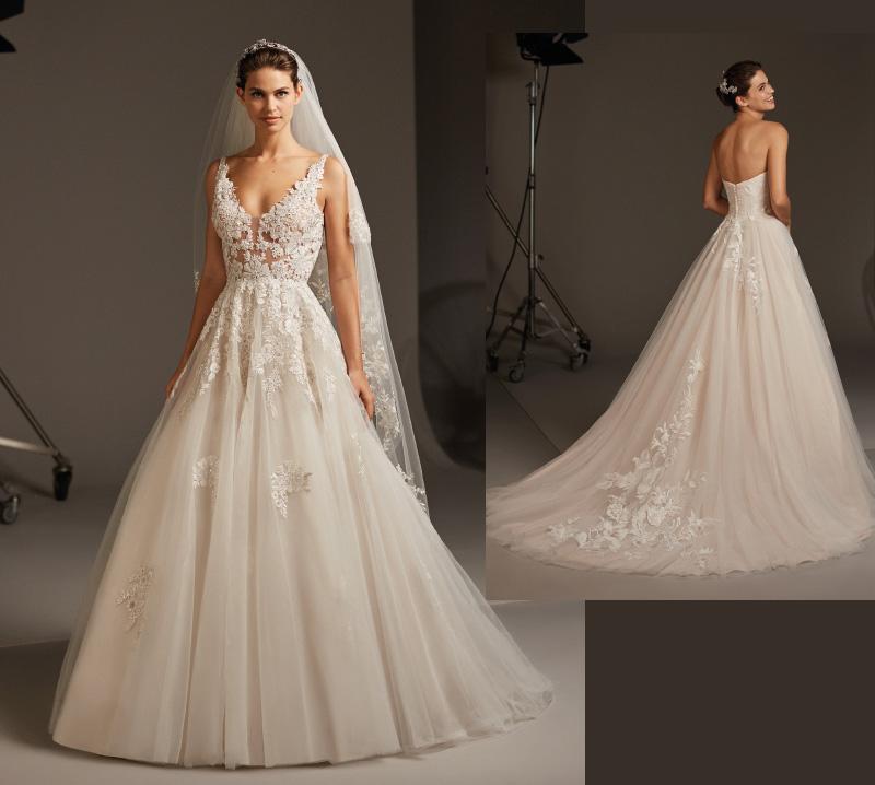 Prekolekcja sukien ślubnych Pronovias 2020