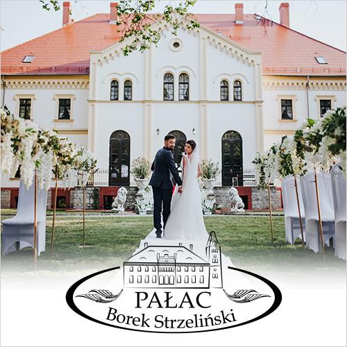 ślub i wesele w Pałacu w Borku Strzelińskim