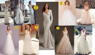 Dobór sukni ślubnej do sylwetki