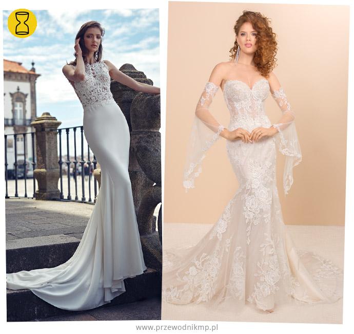 Suknie ślubne dla figury o kształcie klepsydry
