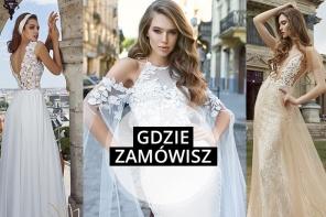 Piękne unikatowe suknie ślubne