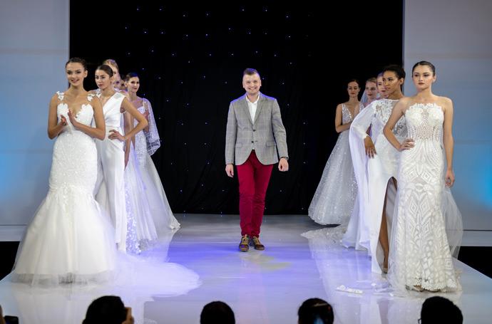 Kamil Hala Atelier pokaz sukien ślubnych na targach ślubnych w Hali Orbita
