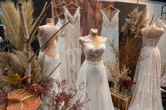 Suknie ślubne na targach ślubnych w Orbicie