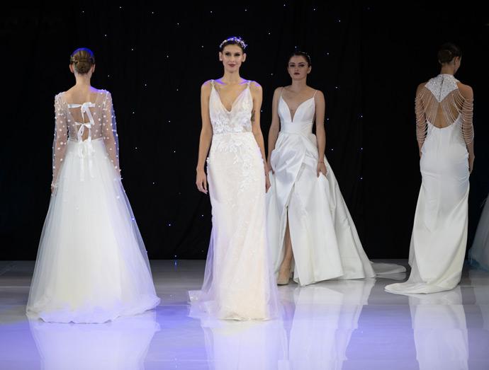 Pokaz sukien ślubnych z kolekcji 2020