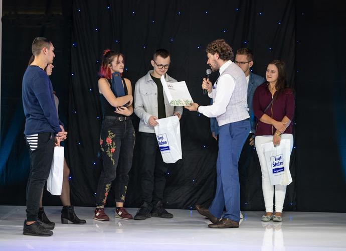 Konkurs na scenie Targów Ślubnych w Hali Orbita
