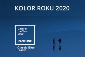 Kolor roku 2020 Classic Blue do ślubu