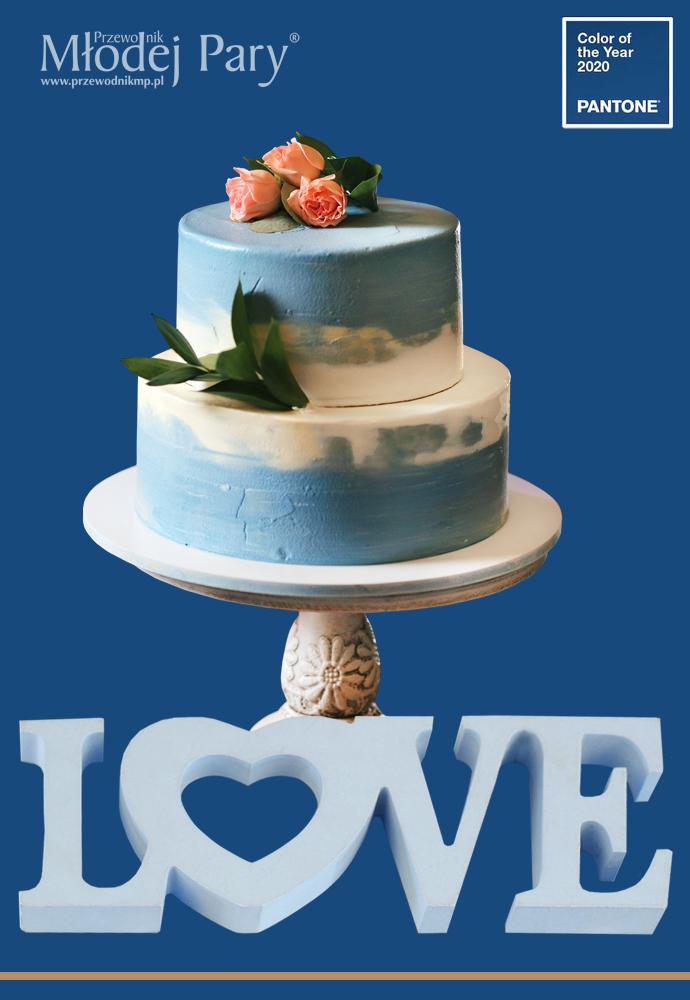 Kolory classic blue na ślub