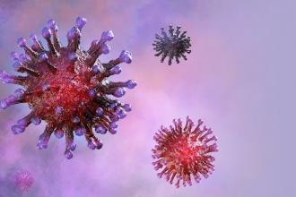 Koronawirus - wizja artystyczna