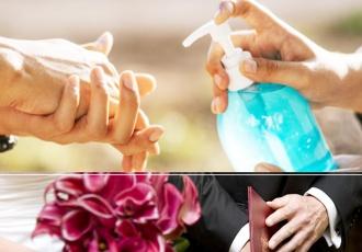 Dezynfekcja na weselu