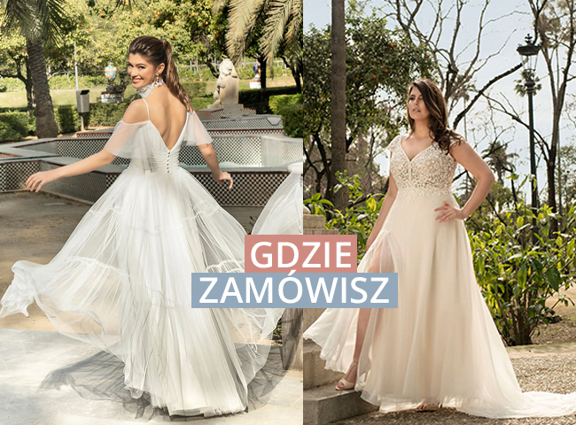 Suknie ślubne 2021 Agnes we Wrocławiu w Salonie Flossmann. Romantyczne sukienki również w dużych rozmiarach.