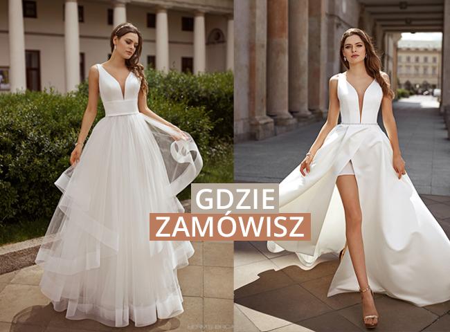 Suknie ślubne Herms 2021 we Wrocławiu w Salonie Flossmann